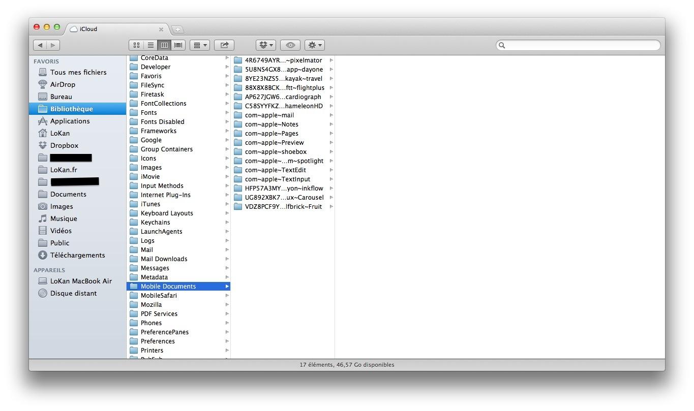 quel est l39emplacement du dossier icloud sur mac With apple icloud documents