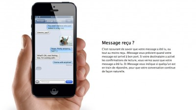 iMessage Apple