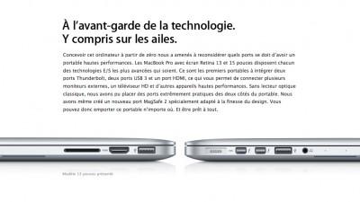 macbook pro technologie 13