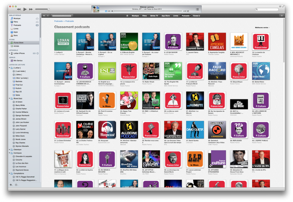 lokan itunes podcast