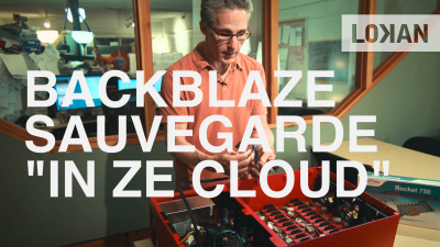 backblaze sauvegarde cloud