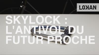 lokan skylock bike