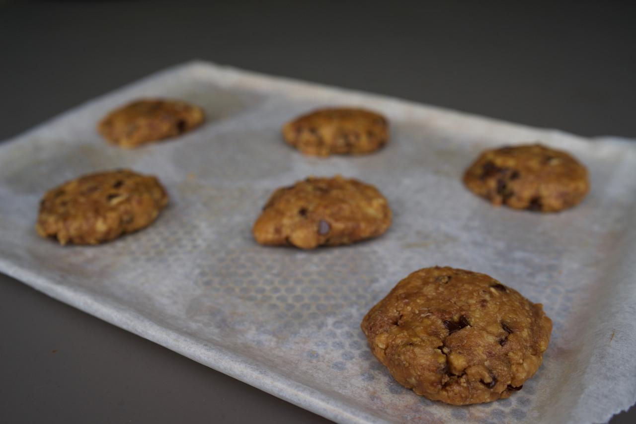 Cuisson des cookies au chocolat - Recette cookies laura todd ...