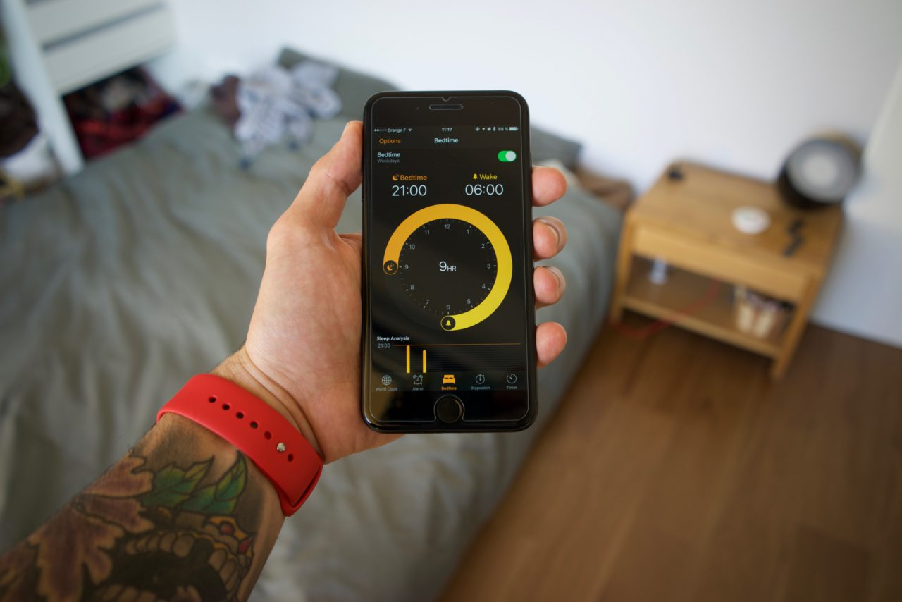 sommeil-bedtime-iphone-7-plus-ios-10