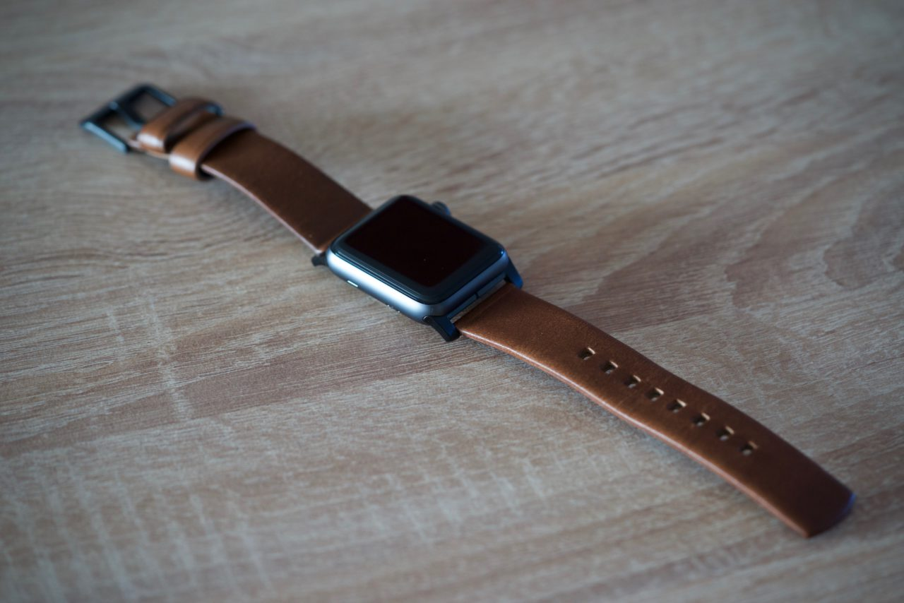 Apple Watch Strap Nomad Leather