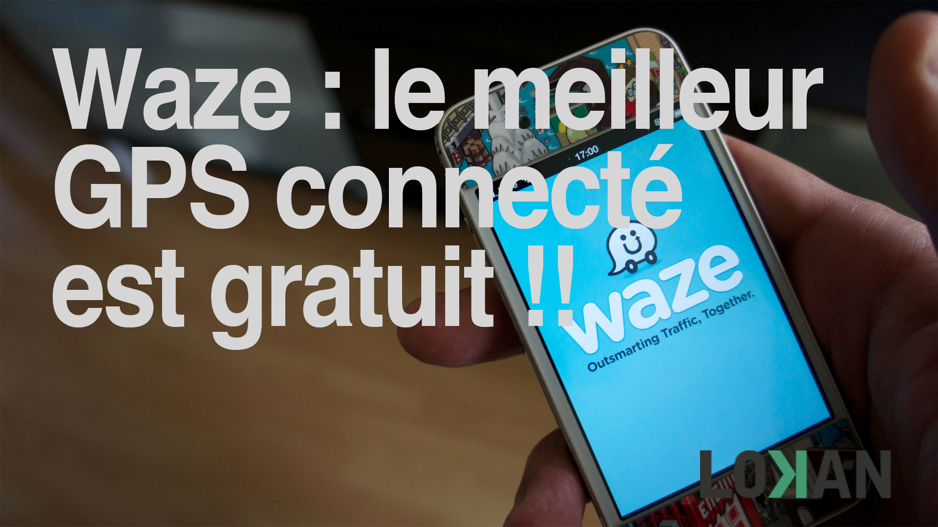 waze pr sentation et test du meilleur gps iphone et andro d. Black Bedroom Furniture Sets. Home Design Ideas