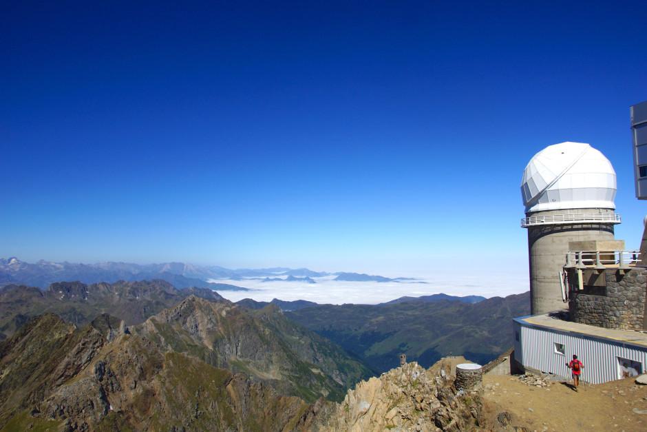 randonnée observatoire pic du midi nuage