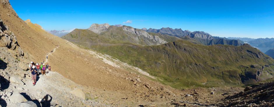 breche de roland pyrenees panoramique