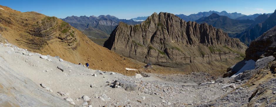 breche de roland pyrenees panoramique pierrier