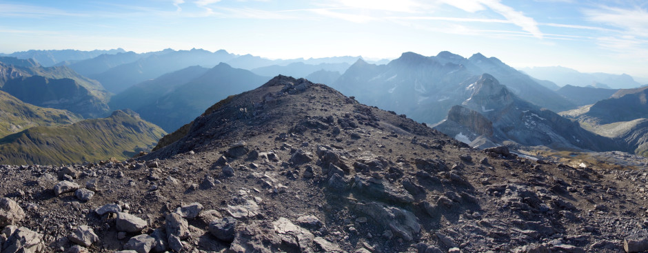 randonnee taillon pyrenees topographie panoramique