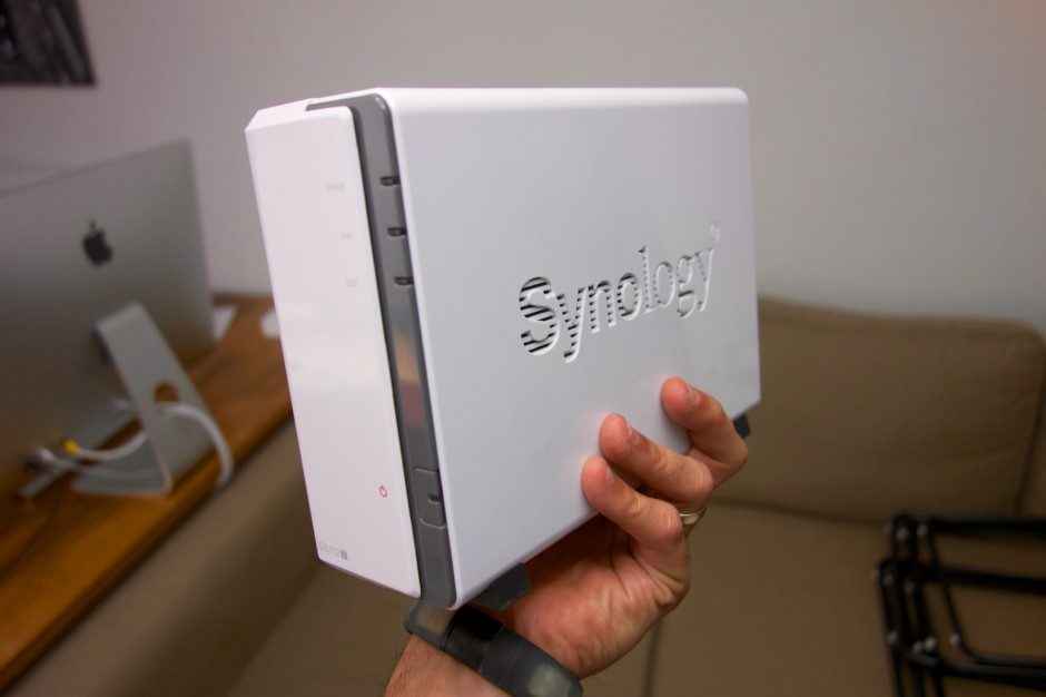 NAS Synology DS112j front