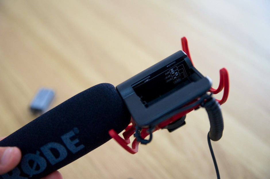 VideoMic Rycote Lyre