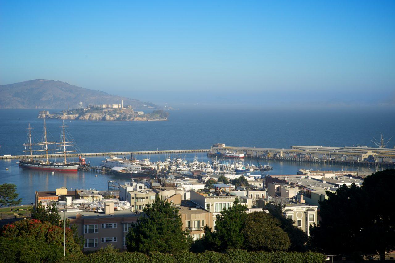 Lombard Street Alcatraz