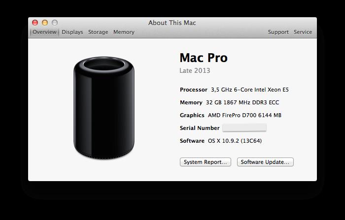 mac pro lokan déballage