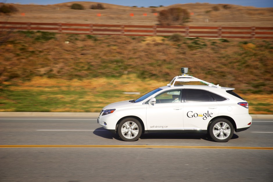 lokan google self driving car