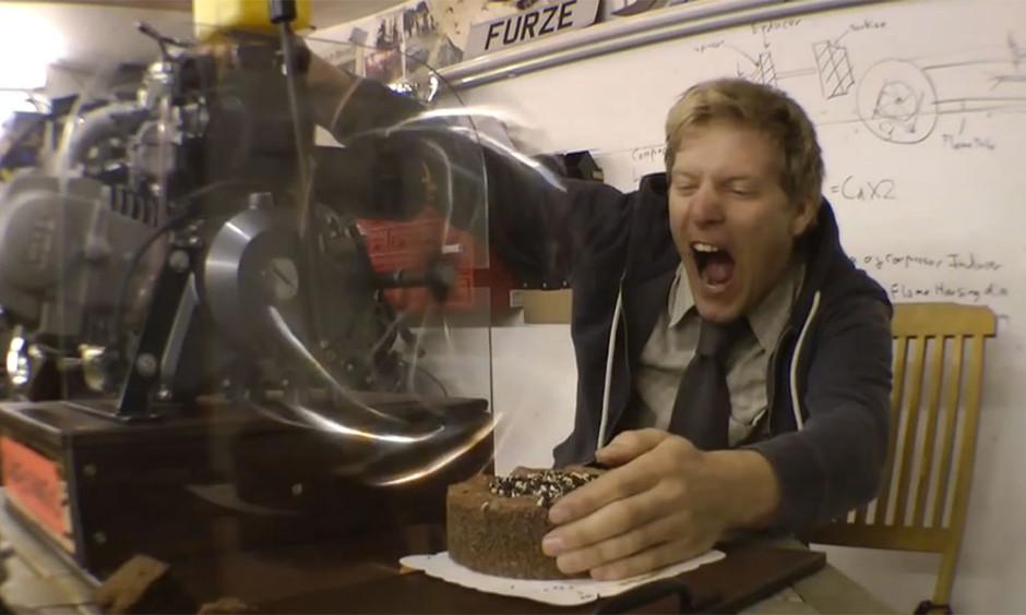 colin furze cake o matic