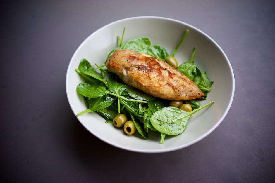 poulet olive