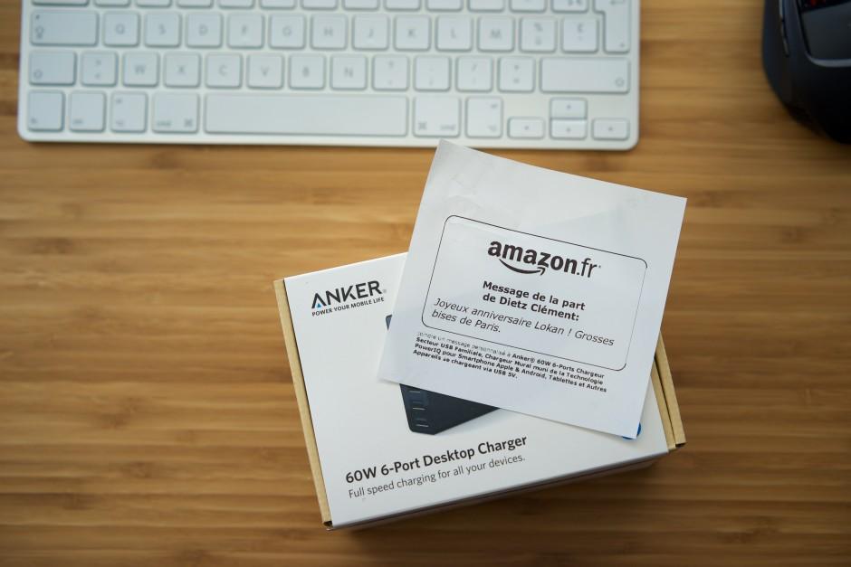 cadeau Amazon liste envie