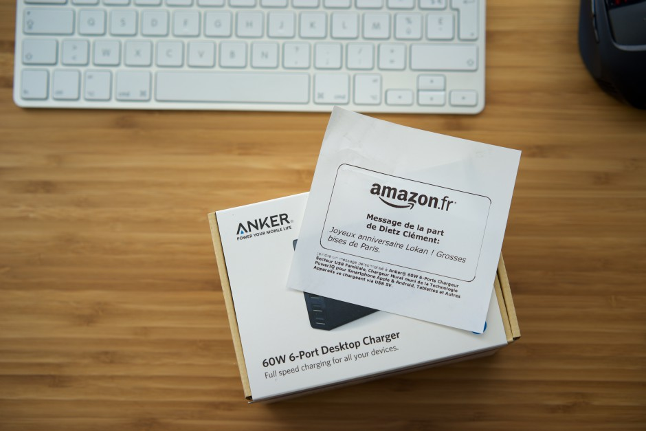 anker chargeur USB 6 ports