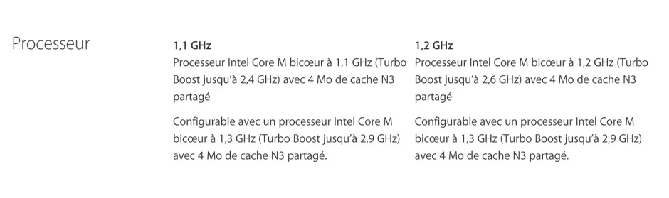 processeur macbook retina
