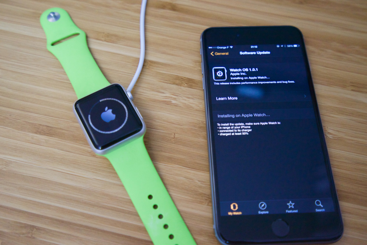 apple watch mise a jour