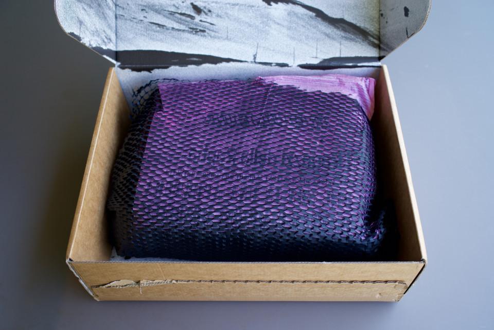 carton déballage rapha H6 unboxing