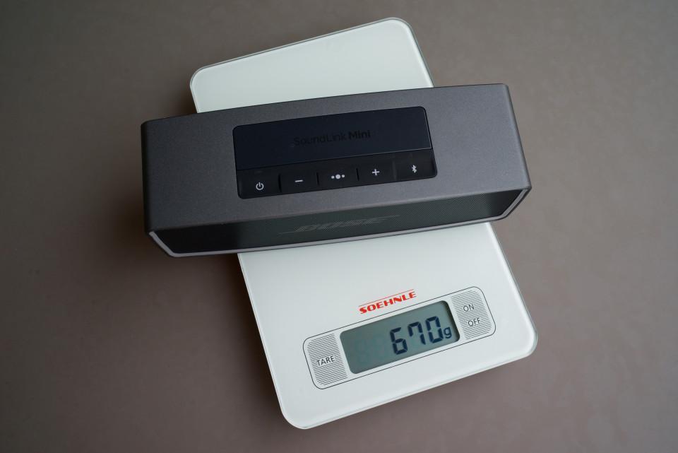 poids encombrement SoundLink Mini 2
