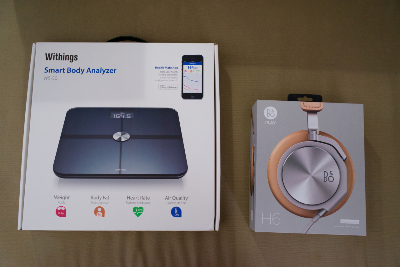 Withings WS-50 Bang olufsen H6