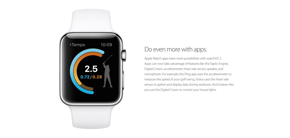 apple watch application native