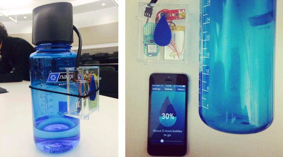 prototype hidrateme bouteille