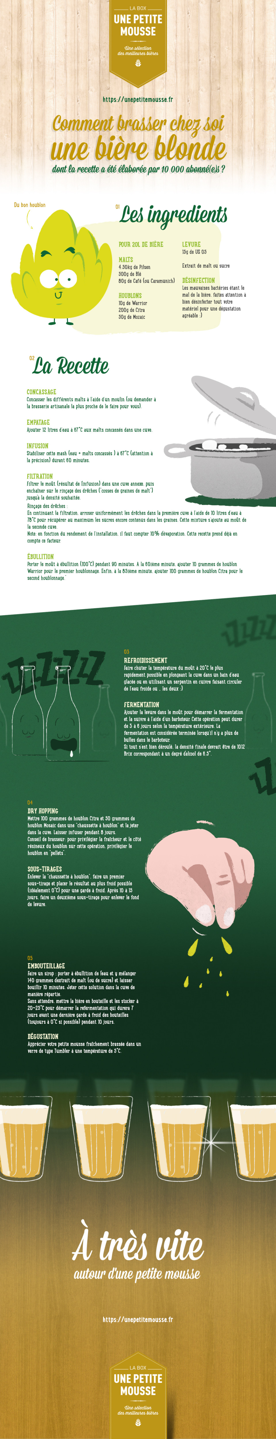 unepetitemousse infographie brasser sa biere