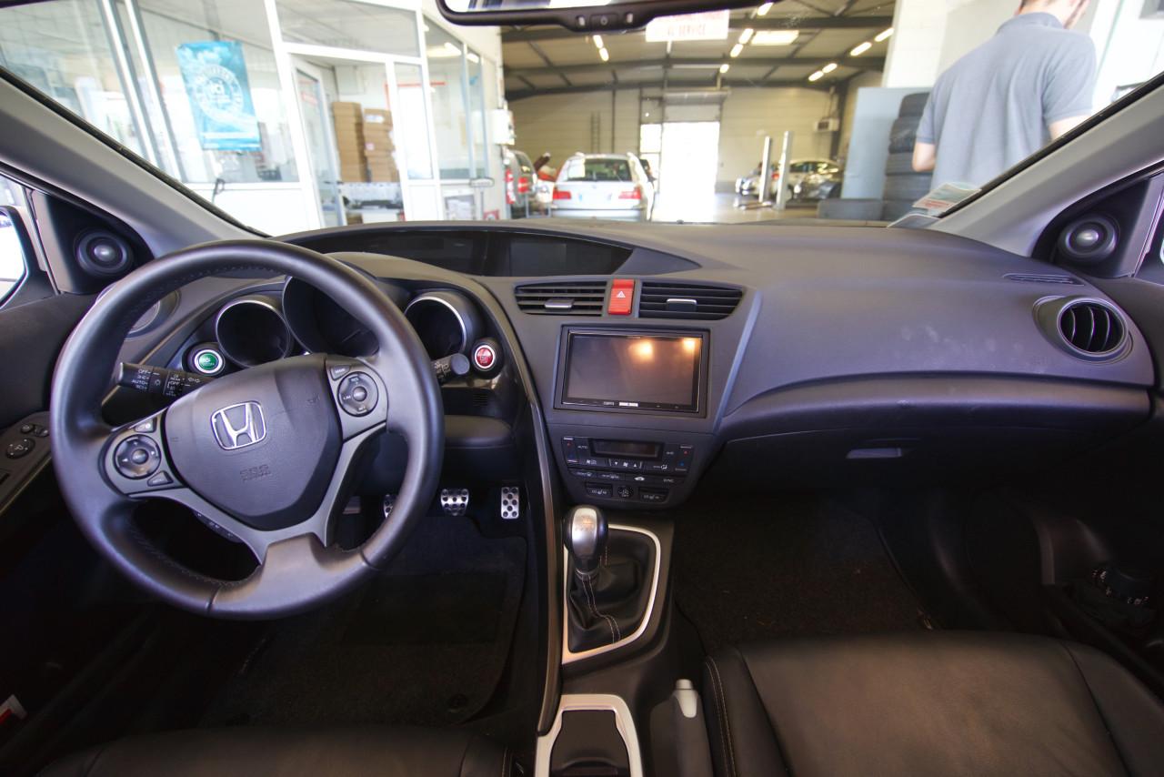 Honda Civic CarPlay Alpine iLX-007