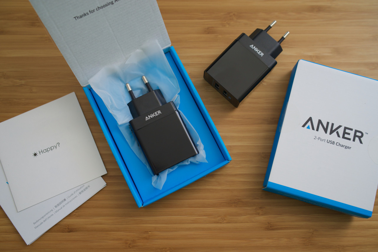 double chargeur USB Anker