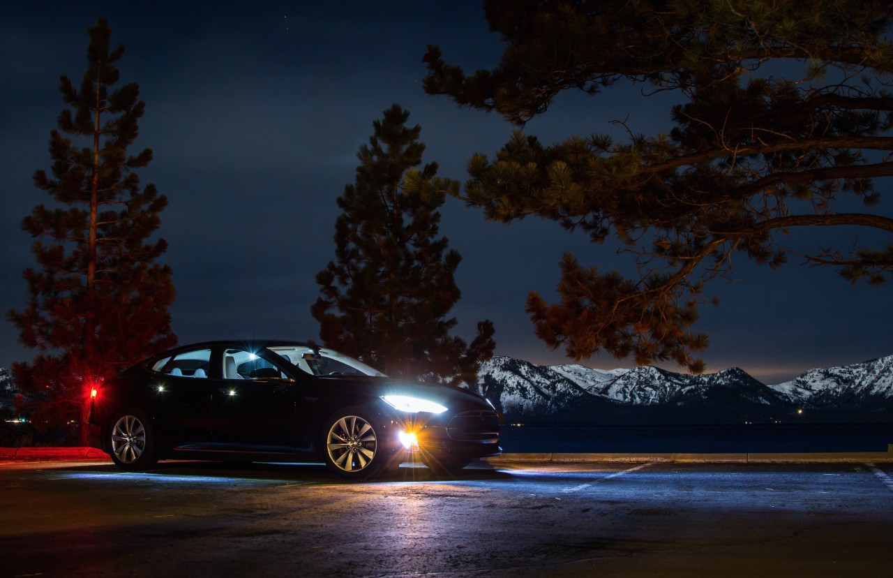 Tesla Model S autopilote