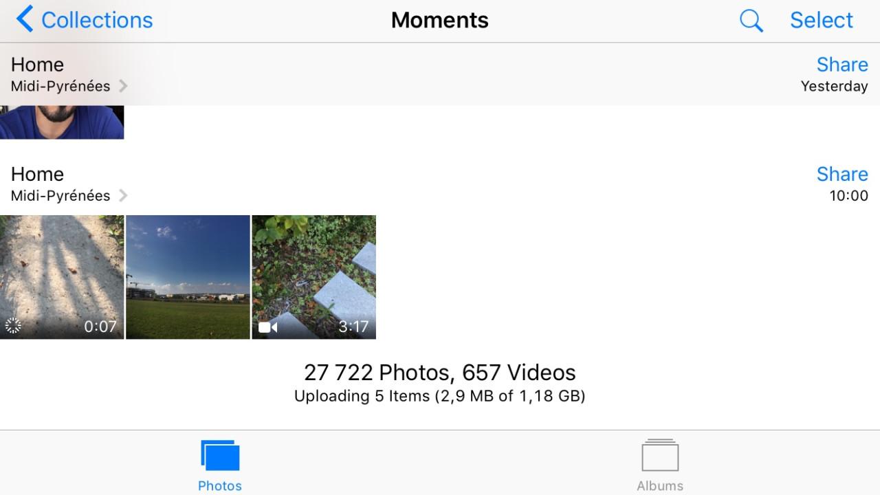iCloud iPhone 6s 4K
