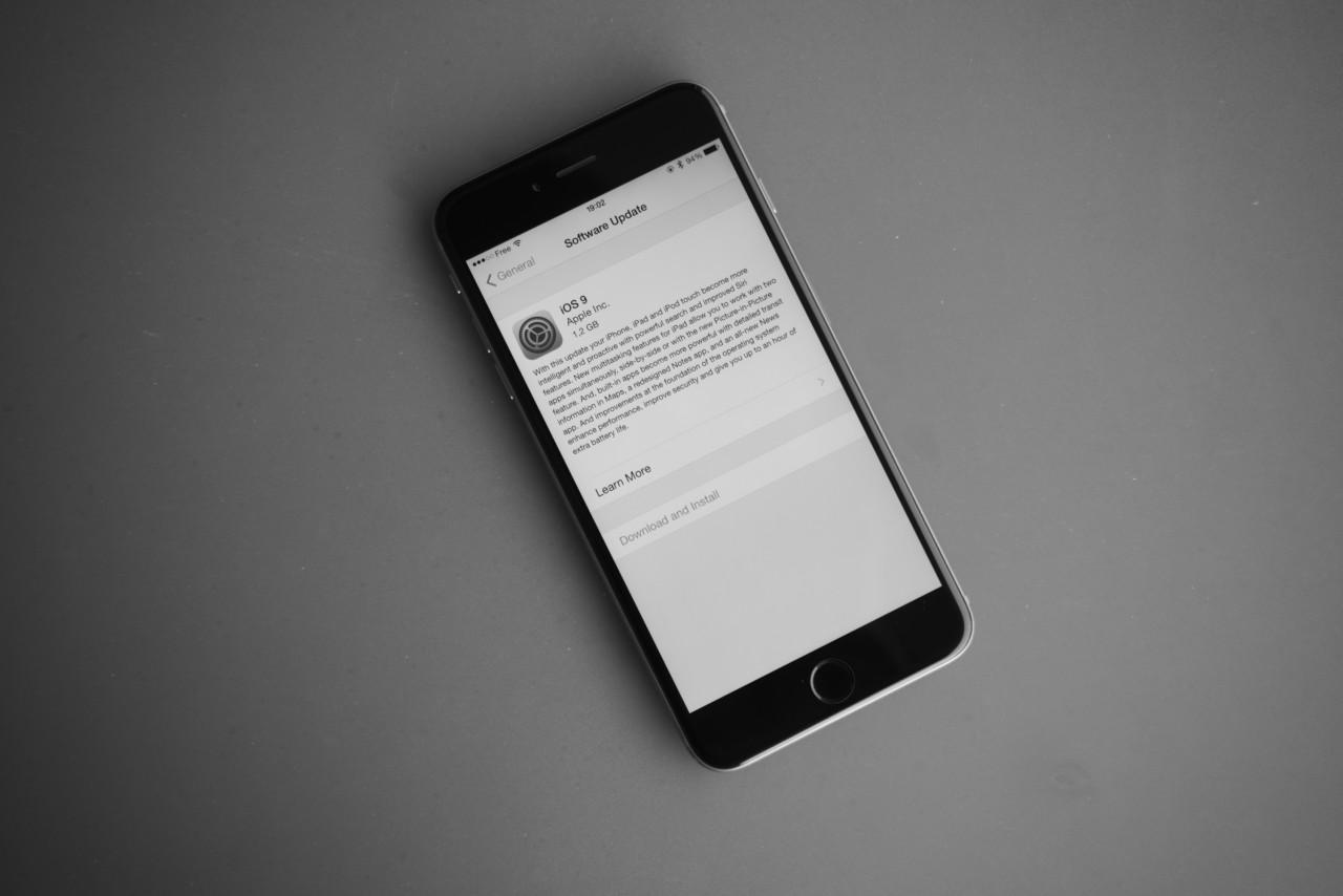 iOS 9 iPhone update