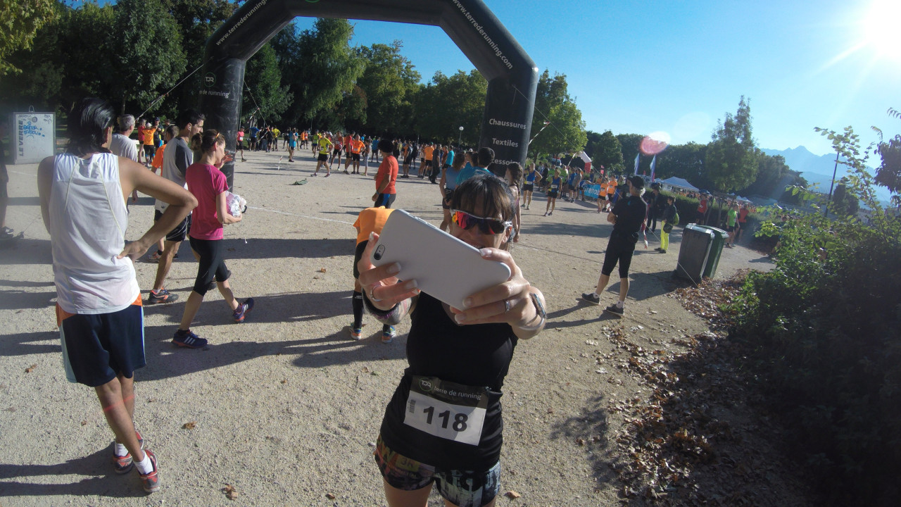 marie courir a grenoble 10K 2015