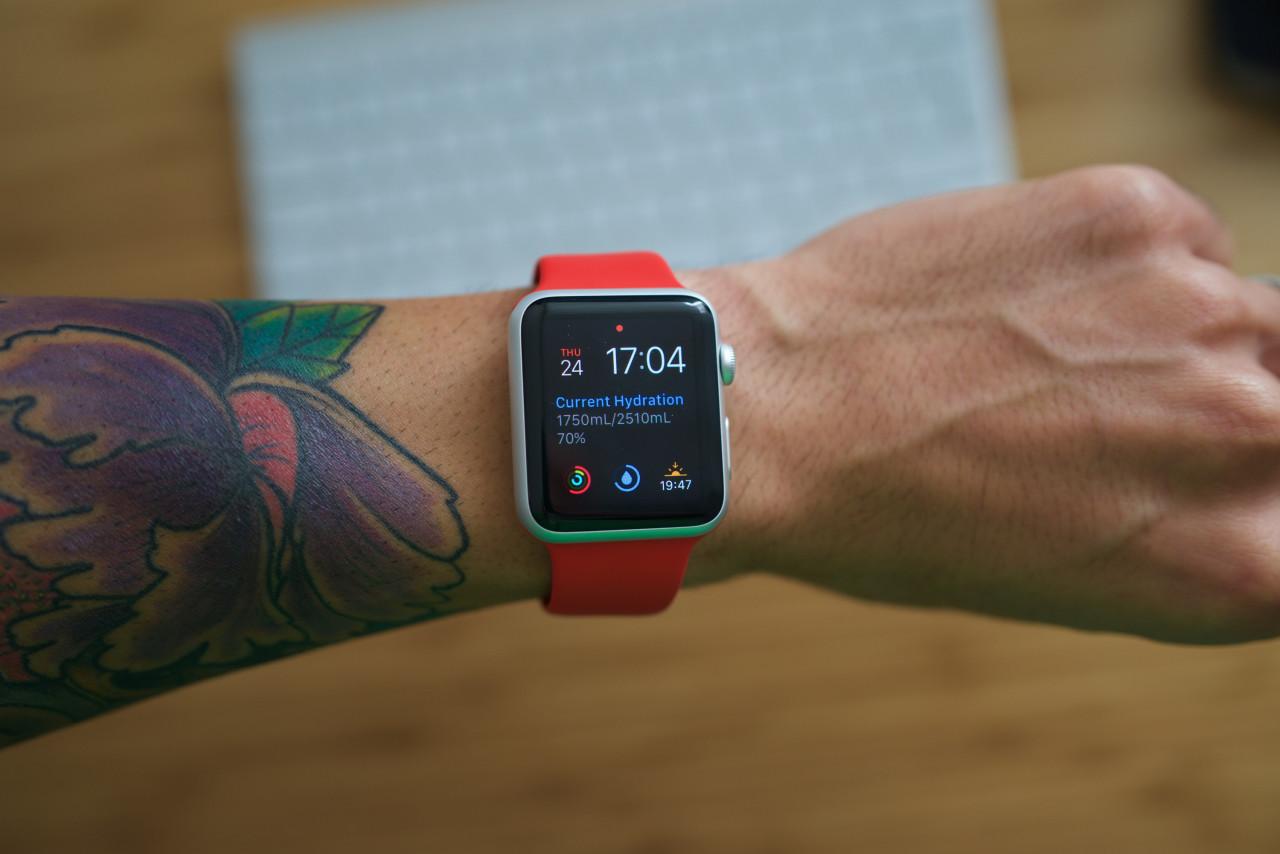 waterminder apple watch