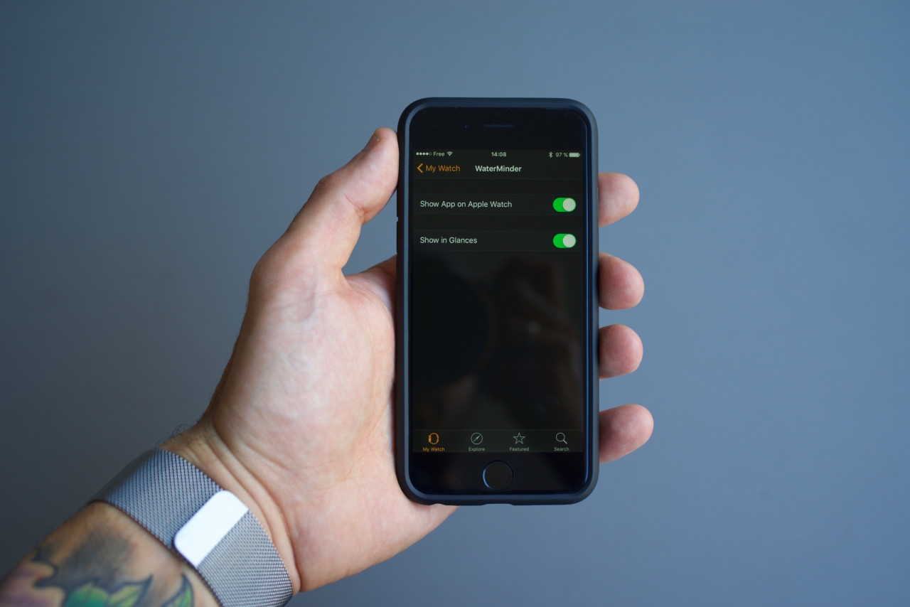 apple watch iphone installer application