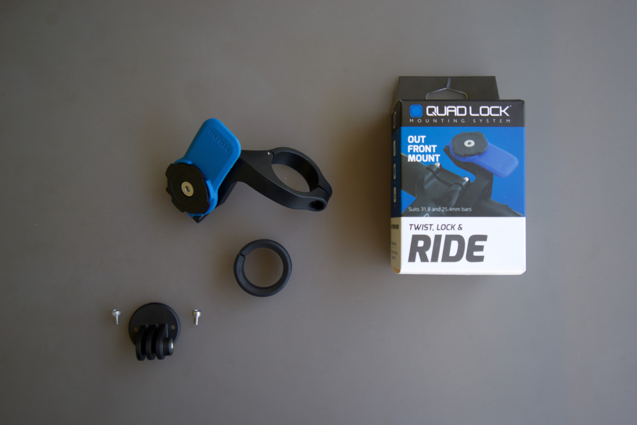 quadlock fixation devant cintre