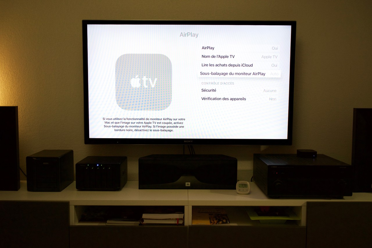 Apple TV Menu AirPlay