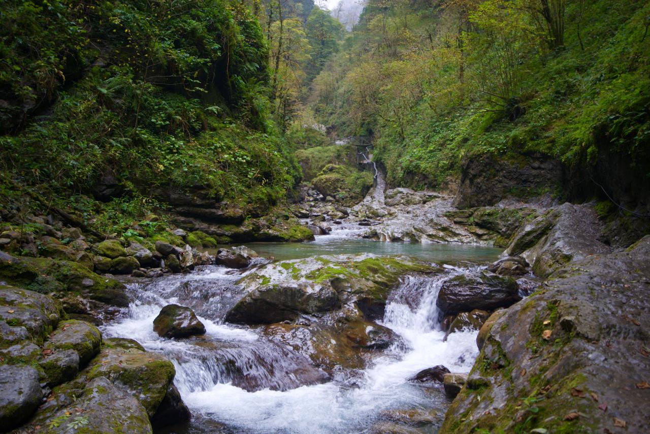 bassin fleuve randonnée gorges kakouetta