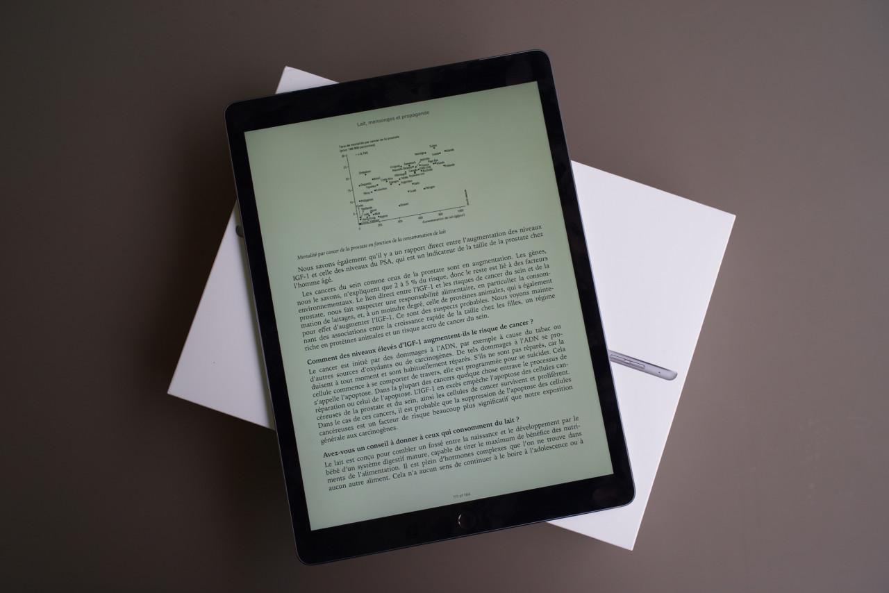 ipad pro ibooks livre