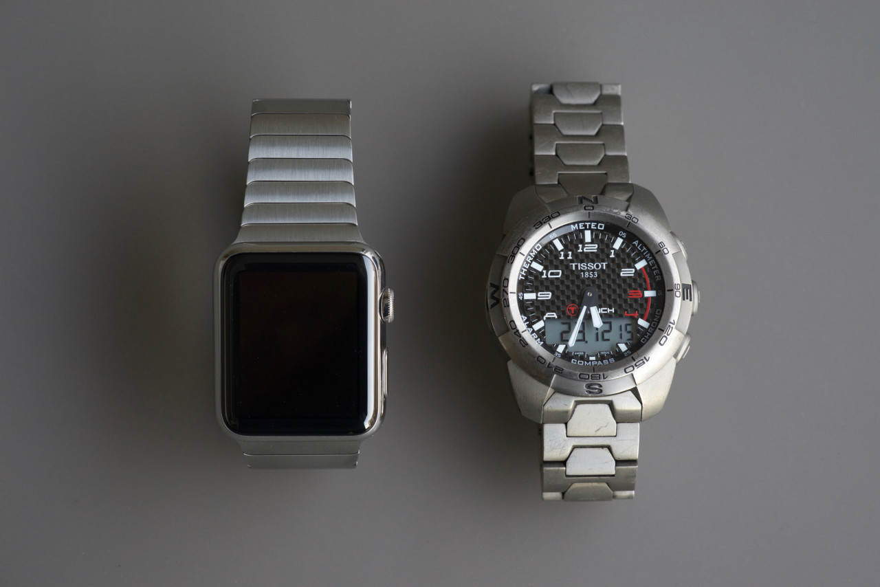 apple watch vs tissot expert touch