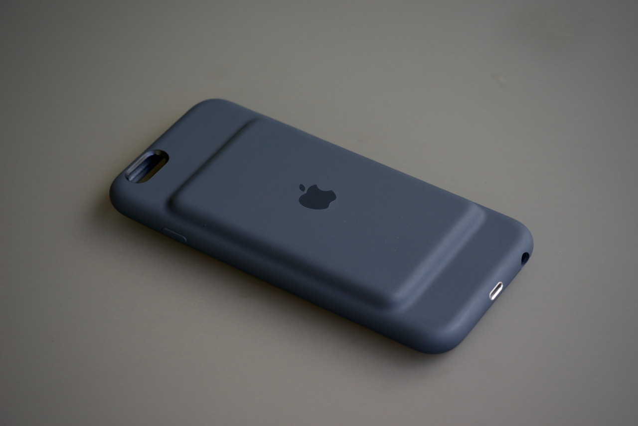 back iphone smart battery case