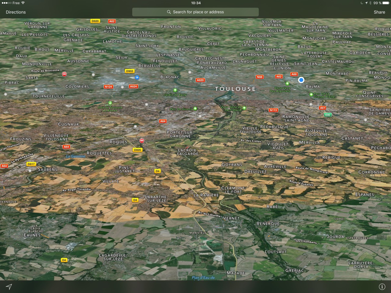 Apple Maps Flyover Toulouse 31