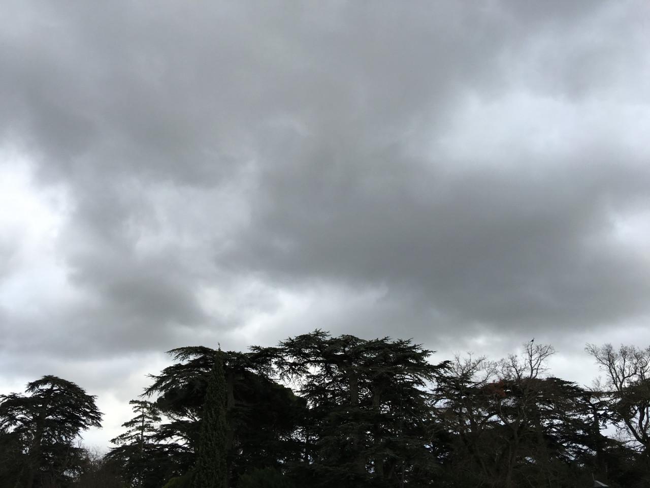 ciel nuageux loran vélo