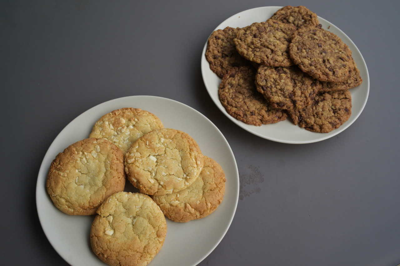cookies chocolat noir blanc