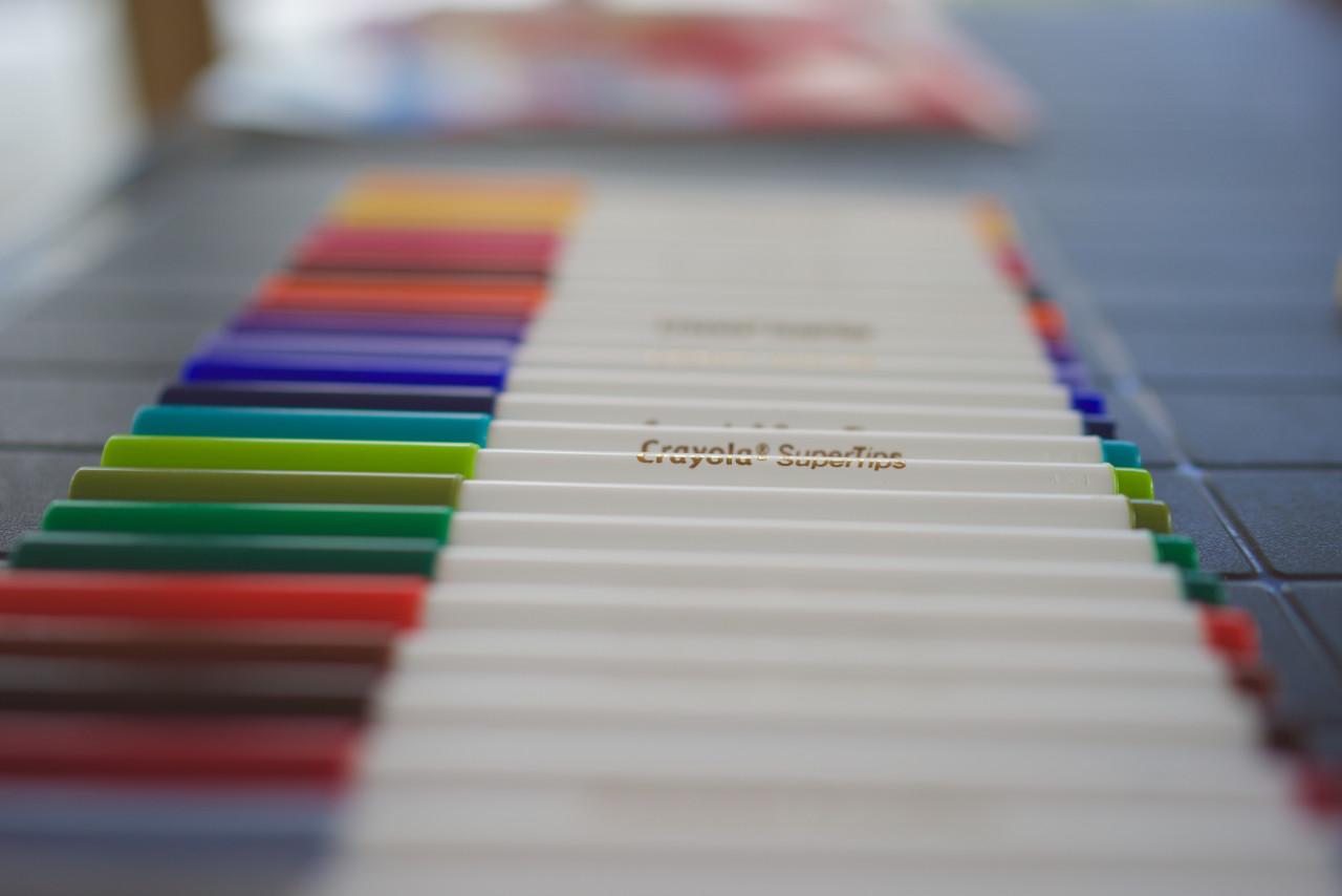 crayola supertips lokan