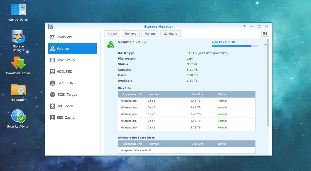 remplacer disque dur synology RAID